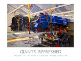 Giants Refreshed Giclee Print by Terence Tenison Cuneo