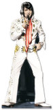 Elvis Presley - White Suite Lifesize Standup Poster Stand Up