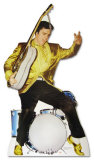 Elvis Presley - Drums Lifesize Standup Poster Stand Up