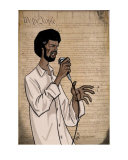 Gil Scott Heron Photographic Print by Digital Disciple