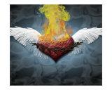 El corazón es sagrado Photographic Print by Meesha Marie