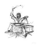 Empathic Sketch III Giclee Print by Sam Chinkes