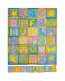 Alphabet Print by Cheryl Piperberg