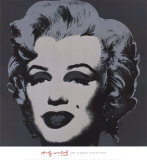 Marilyn Monroe, 1967 (black) Art par Andy Warhol