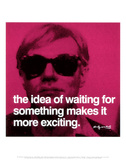 Waiting Art PrintAndy Warhol