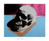 Andy Warhol - Skull, 1976 Plakát