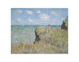 Cliff Walk at Pourville, 1882 Posters by Claude Monet