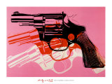 Gun, c.1981-82 Lminas por Andy Warhol