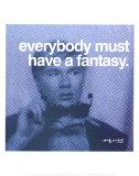 Fantasy Poster von Andy Warhol