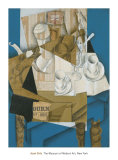 Breakfast, 1914 Prints by Juan Gris