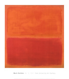 No. 3, 1967 Posters af Mark Rothko