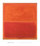 Mark Rothko - No. 3, 1967 Plakát
