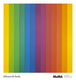 Spectrum IV Poster por Ellsworth Kelly