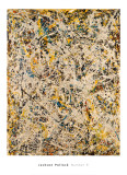 No. 9, 1949 Posters tekijn Jackson Pollock