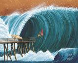 Pier Pressure Pôsters por Rick Romano