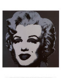Marilyn Monroe, 1967 (black) Kunst af Andy Warhol