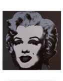 Andy Warhol - Marilyn Monroe, 1967 (black) Reprodukce