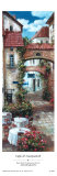 Cafes and Courtyards II Print by Roger Duvall