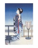 Tsuki Posters by Yoshikawa Kanpo