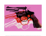 Andy Warhol - Gun, c.1981-82 - Reprodüksiyon