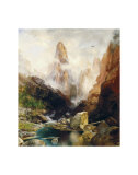 Mist in Kanab Canyon, Utah, 1892 Poster by Thomas Moran