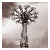 Parachute Jump Prints by Erin Clark