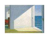 Zimmer mit Meeresblick Poster von Edward Hopper