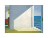 Rooms by the Sea Print by Edward Hopper