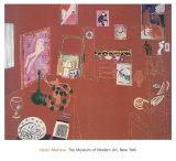 The Red Studio Plakater av Henri Matisse