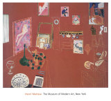 The Red Studio Prints by Henri Matisse