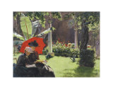 Afternoon in the Cluny Garden, Paris, 1889 Kunstdruck von Charles Courtney Curran