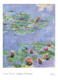 Water Lilies, c. 1914-1917 Affiches par Claude Monet