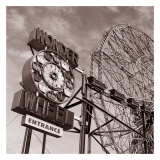 Wonder Wheel Prints by Erin Clark