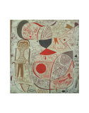 Printed Sheet with Pictures, 1937 Kunstdrucke von Paul Klee