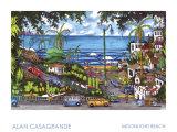 Moonlight Beach Prints by Alan Casagrande