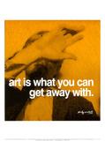 Art Poster par Andy Warhol
