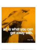 Art Poster by Andy Warhol