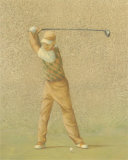 Golfer II Posters by Jose Gomez