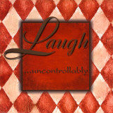 Laugh Uncontrollably Lmina por Debbie DeWitt