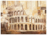 Colosseo Roma Print by Rian Withaar