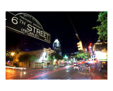 6th Street Photographic Print by John Gusky