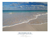 Elbow Beach Bermuda Smooth Surf II Photographic Print by Eric Protzman