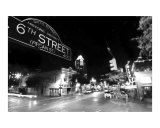 6th Street BW Photographic Print by John Gusky