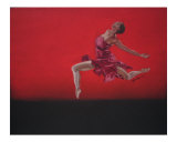 Alvin Ailey Performance 2004 Giclee Print by Michelle Hunter