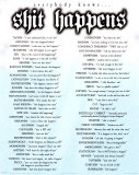 Shit Happens (Everybody Knows) Posters