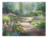 Garden Path Giclee Print by Wendy Kroeker (Erhardt)