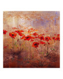Field Poppies 2 Giclee Print by Wendy Kroeker (Erhardt)