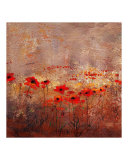 Field Poppies 3 Giclee Print by Wendy Kroeker (Erhardt)