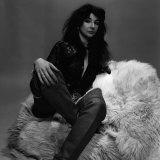 Singer Kate Bush in the Studio March 1978 Fotografická reprodukce