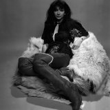 Singer Kate Bush in the Studio March 1978 Photographic Print